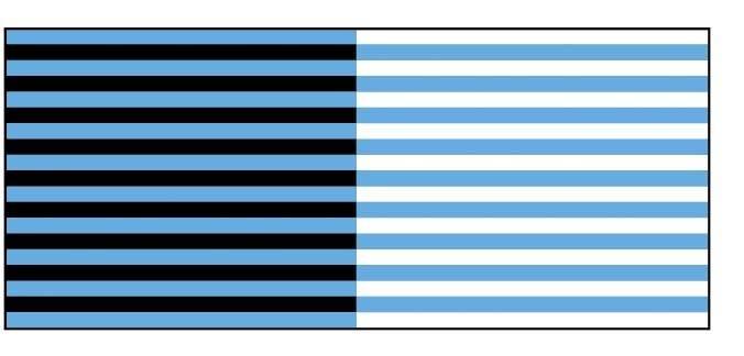 Blaue-Streifen