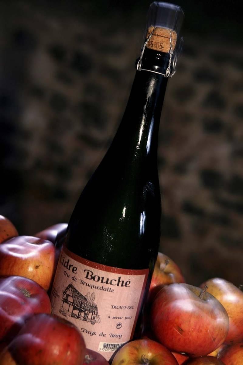 Cidre-Flasche