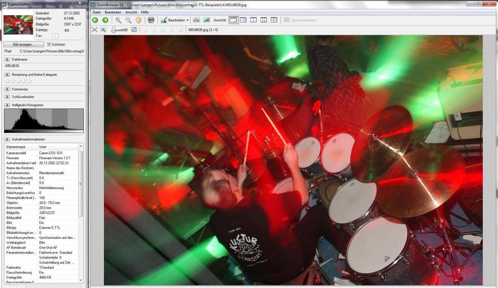 Schlagzeug-Screenshot